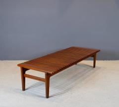 Hans Wegner Hans J Wegner Slatted Bench or Coffee Table 1950s - 1575174