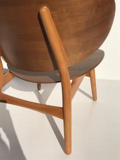 Hans Wegner Hans Wegner Laminated Walnut Shell Chair - 440138