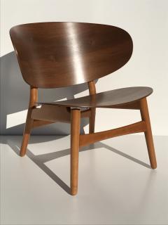 Hans Wegner Hans Wegner Laminated Walnut Shell Chair - 440140