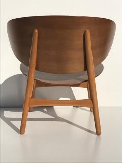 Hans Wegner Hans Wegner Laminated Walnut Shell Chair - 440141