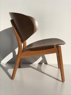 Hans Wegner Hans Wegner Laminated Walnut Shell Chair - 440143