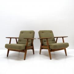 Hans Wegner Hans Wegner Lounge Chairs Model GE 240 - 1061234