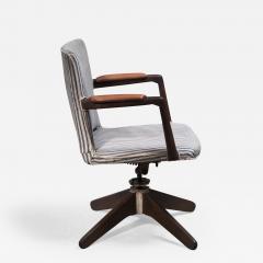Hans Wegner Hans Wegner Oak office chair Plan M bler Denmark 1940s - 2068409