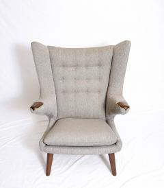 Hans Wegner Hans Wegner Papa Bear Chair and Footstool - 178299
