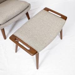 Hans Wegner Hans Wegner Papa Bear Chair and Footstool - 178304