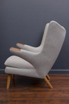 Hans Wegner Hans Wegner Papa Bear Chair and Ottoman - 338027