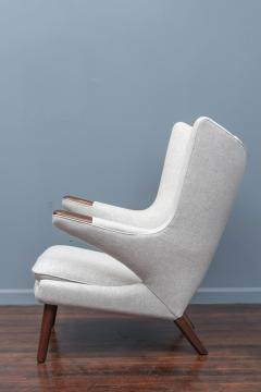 Hans Wegner Hans Wegner Papa Bear Chair and Ottoman for A P Stolen - 1824028