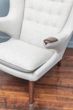 Hans Wegner Hans Wegner Papa Bear Chair and Ottoman for A P Stolen - 1824031