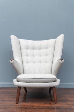 Hans Wegner Hans Wegner Papa Bear Chair and Ottoman for A P Stolen - 1824032
