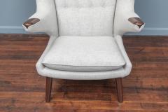 Hans Wegner Hans Wegner Papa Bear Chair and Ottoman for A P Stolen - 1824033