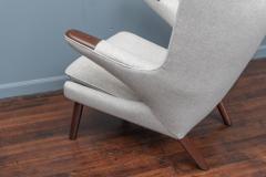 Hans Wegner Hans Wegner Papa Bear Chair and Ottoman for A P Stolen - 1824035