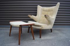Hans Wegner Hans Wegner Papa Bear chair and Ottoman - 923713