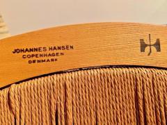 Hans Wegner Hans Wegner Peacock Chair in Ash and Teak with Woven Seat - 1086841