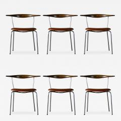Hans Wegner Hans Wegner Set of 6 Dining Chairs - 189520