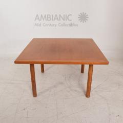 Hans Wegner Hans Wegner Teak Oak Coffee Table Mid Century Danish - Mid century oak coffee table