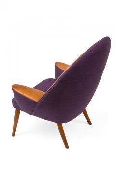 Hans Wegner Hans Wegner Upholstered Peacock Easy Chair Model JH521 - 2141004