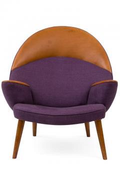 Hans Wegner Hans Wegner Upholstered Peacock Easy Chair Model JH521 - 2141005