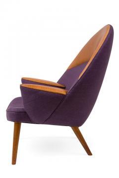 Hans Wegner Hans Wegner Upholstered Peacock Easy Chair Model JH521 - 2141006