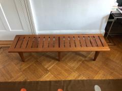 Hans Wegner Hans Wegner slatted bench by Johannes Hansen - 1136046