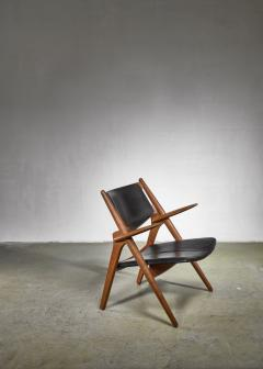 Hans Wegner Hans WegnerCH 28 or Sawbuck chair for Carl Hansen - 1309975