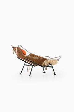 Hans Wegner Lounge Chair Flag Halyard Chair Produced by Getama - 1907216