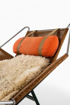 Hans Wegner Lounge Chair Flag Halyard Chair Produced by Getama - 1907218