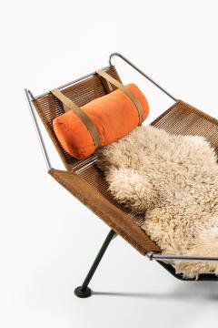 Hans Wegner Lounge Chair Flag Halyard Chair Produced by Getama - 1907219