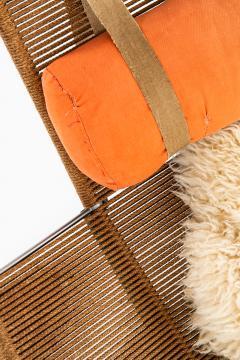 Hans Wegner Lounge Chair Flag Halyard Chair Produced by Getama - 1907220