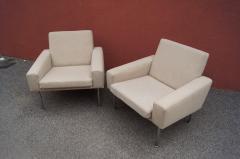 Hans Wegner Pair of Lounge Chairs Model AP34 by Hans Wegner for A P Stolen - 1036836