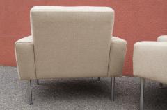 Hans Wegner Pair of Lounge Chairs Model AP34 by Hans Wegner for A P Stolen - 1036838