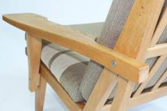 Hans Wegner Pair of Wide Arm Lounge Chairs by Hans Wegner - 352095