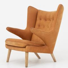 Hans Wegner Papa Bear Chair in leather - 868340