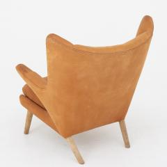 Hans Wegner Papa Bear Chair in leather - 868341