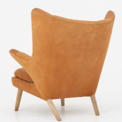 Hans Wegner Papa Bear Chair in leather - 868342