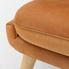 Hans Wegner Papa Bear Chair in leather - 868343
