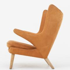 Hans Wegner Papa Bear Chair in leather - 868344