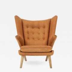 Hans Wegner Papa Bear Chair in leather - 870361