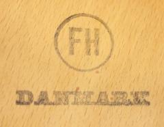 Hans Wegner Rare Danish Modern Shell Settee Designed by Hans Wegner - 308911