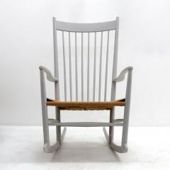 Hans Wegner Rocking Chair Model J16 By Hans J Wegner 1961   585679