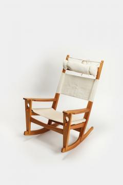 Hans Wegner Rocking chair Hans Wegner Getama Keyhole Mod 673 - 1992420