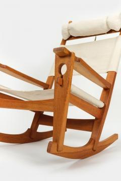 Hans Wegner Rocking chair Hans Wegner Getama Keyhole Mod 673 - 1992423