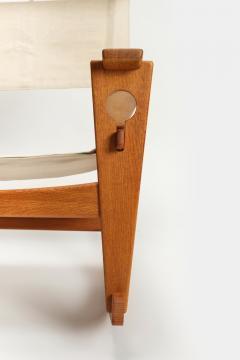 Hans Wegner Rocking chair Hans Wegner Getama Keyhole Mod 673 - 1992435