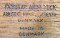 Hans Wegner Scandinavian Modern Teak Rolling Bar Cart Desinged by Hans Wegner - 1057725