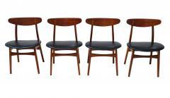 Hans Wegner Set Of 6 Hans J Wegner Dining Chairs Model CH30 For Carl Hansen Son - 1982918