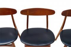 Hans Wegner Set Of 6 Hans J Wegner Dining Chairs Model CH30 For Carl Hansen Son - 1982920