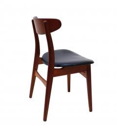 Hans Wegner Set Of 6 Hans J Wegner Dining Chairs Model CH30 For Carl Hansen Son - 1982924