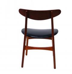 Hans Wegner Set Of 6 Hans J Wegner Dining Chairs Model CH30 For Carl Hansen Son - 1982925