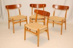 Hans Wegner Set of 4 Hans Wegner CH 23 Dining Chairs - 176172