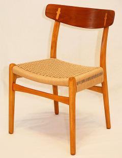 Hans Wegner Set of 4 Hans Wegner CH 23 Dining Chairs - 176176