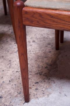 Hans Wegner Set of Six Hans Wegner W2 Dining Chairs for C M Madsen in Oak - 1083625